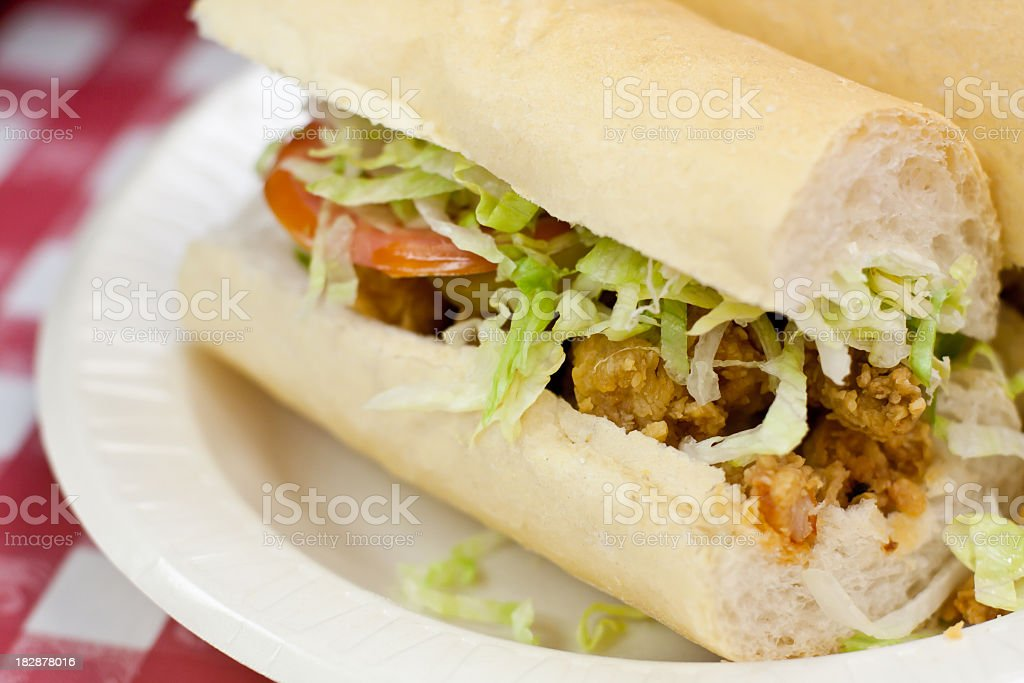 Po Boy Sandwich stock photo