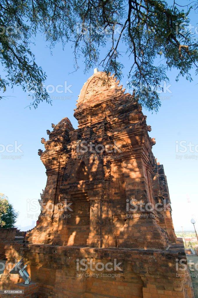 Po Klong Garai, Cham temple, Ninh Thuan near Phan Rang city, Vietnam stock photo