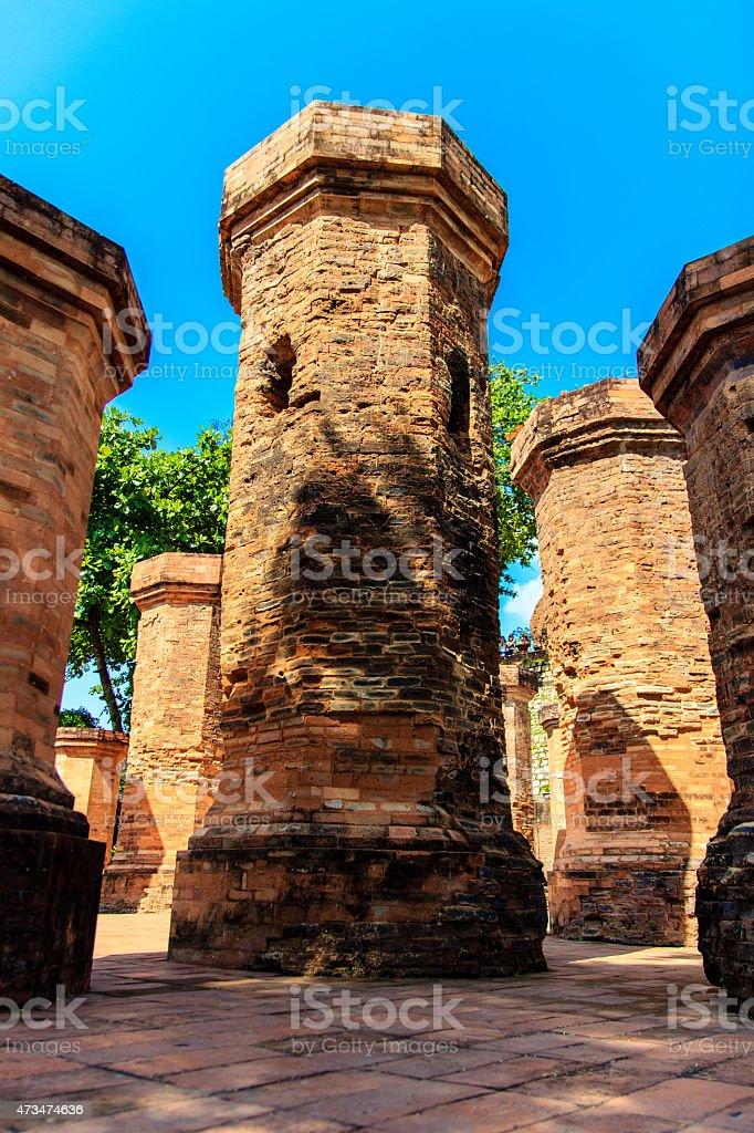 Po Nagar Tower stock photo