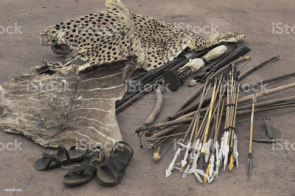 Poaching Tools stock photo