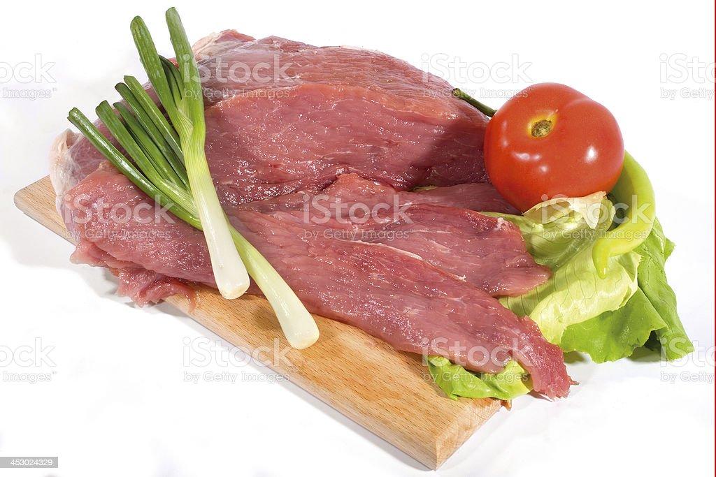 Poark meat royalty-free stock photo