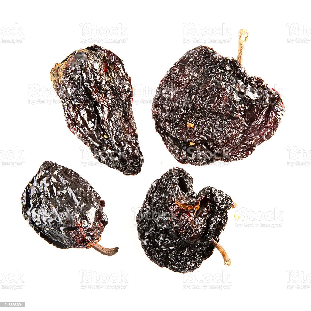 Poblano Chilies stock photo