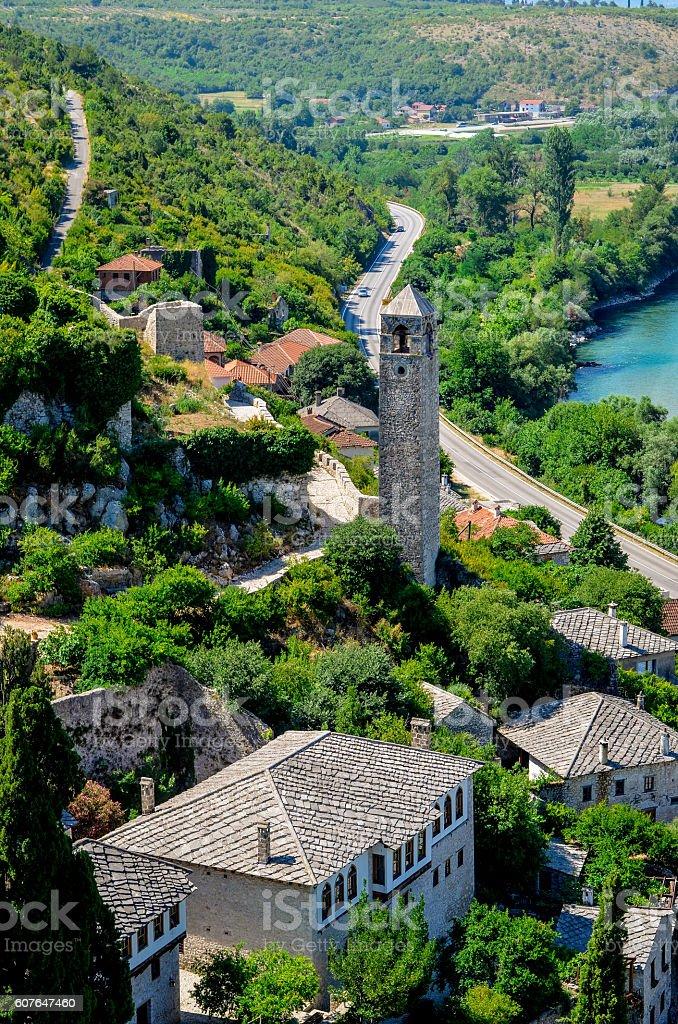 Pocitelj - Bosnia and Herzegovina stock photo