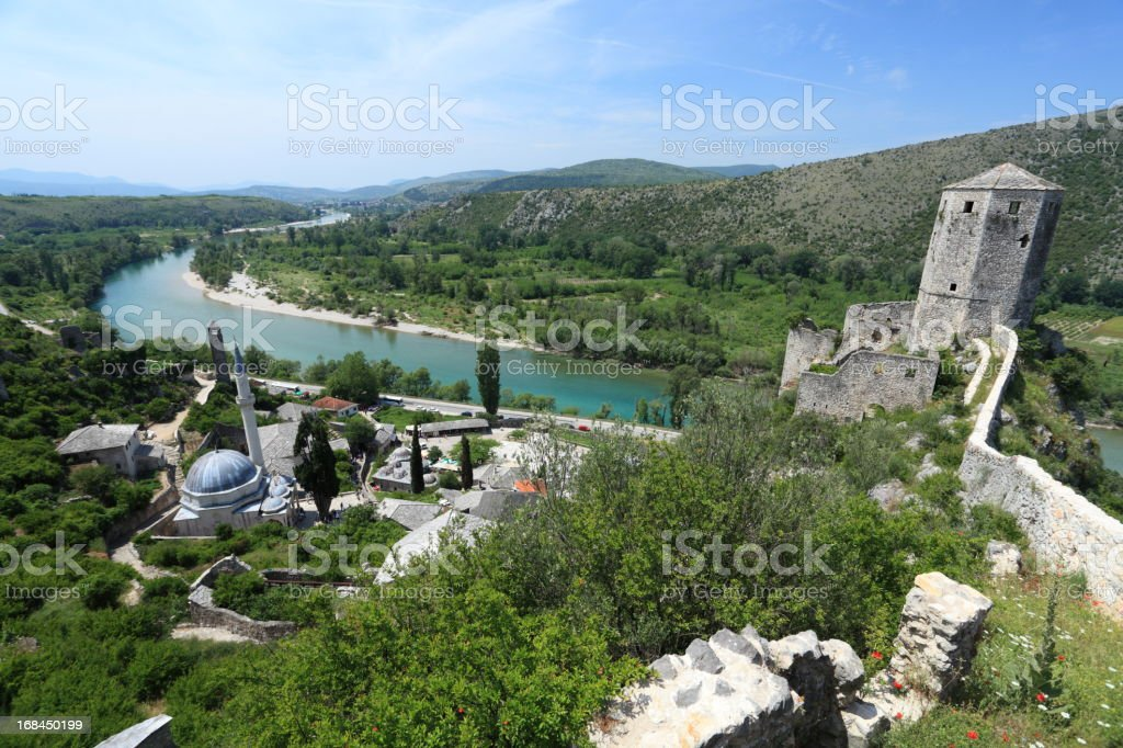 Pocitelj, Mostar, Hercegovina stock photo