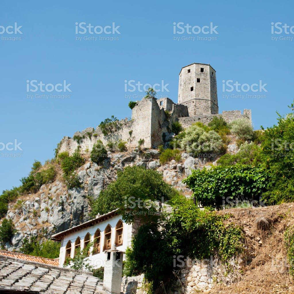 Pocitelj Village view -  Bosnia and Hercegovina stock photo