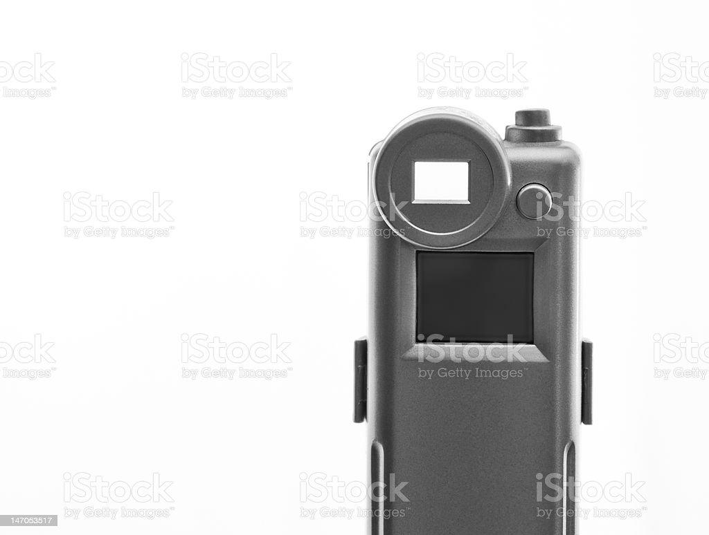 Câmera de bolso foto royalty-free