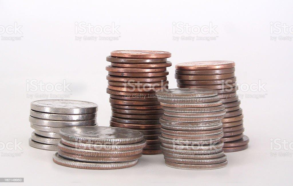 Pocket Change 1 royalty-free stock photo