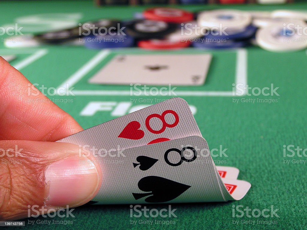 Pocket Eights royalty-free stock photo