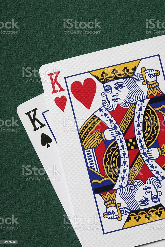 Pocket kings stock photo