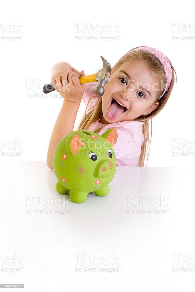 pocket money royalty-free stock photo