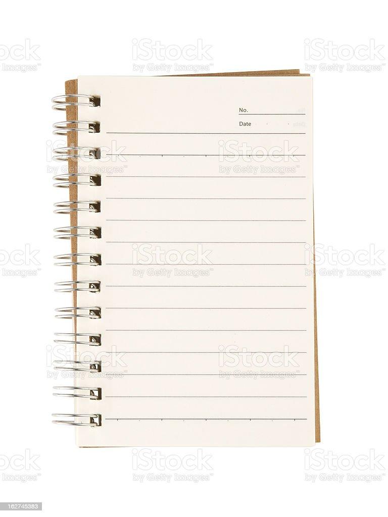 Pocket Notebook royalty-free stock photo