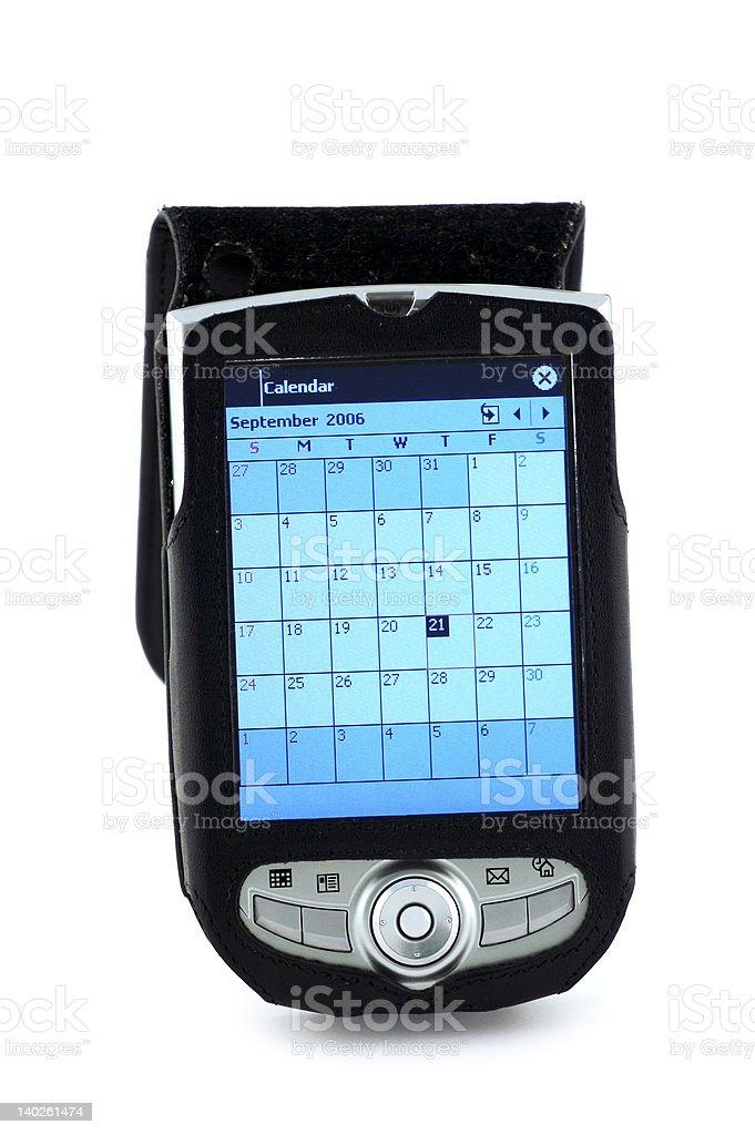 Pocket PC royalty-free stock photo
