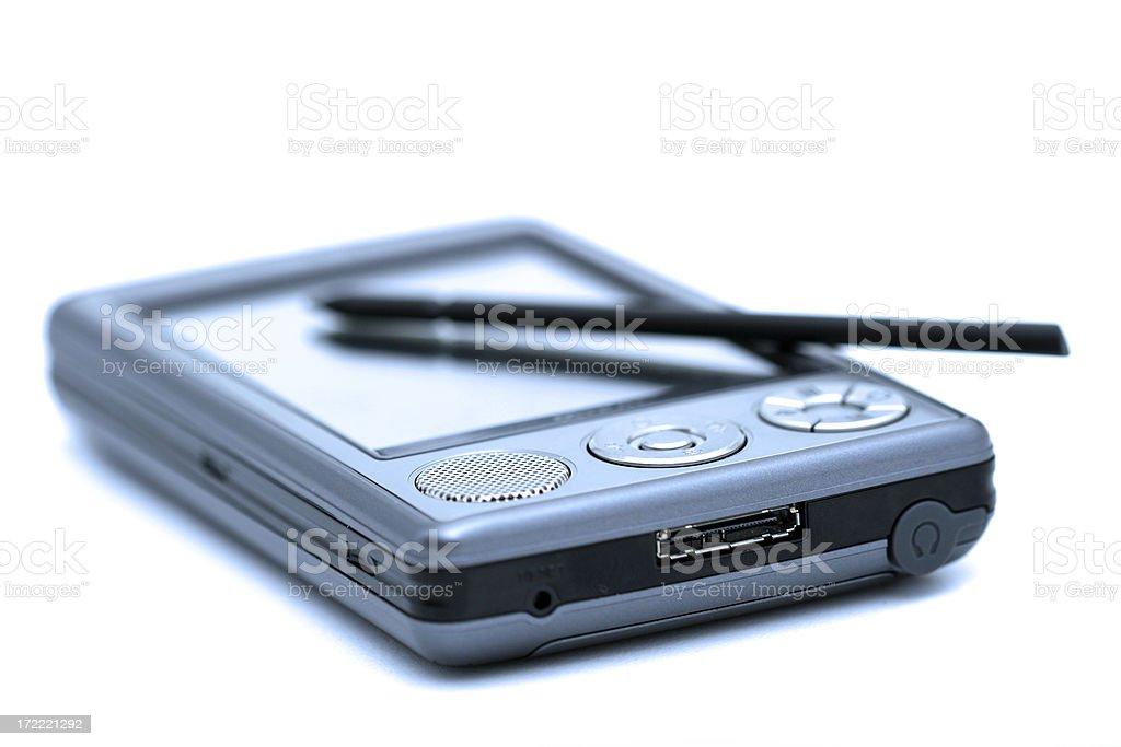pocket PC #2 stock photo