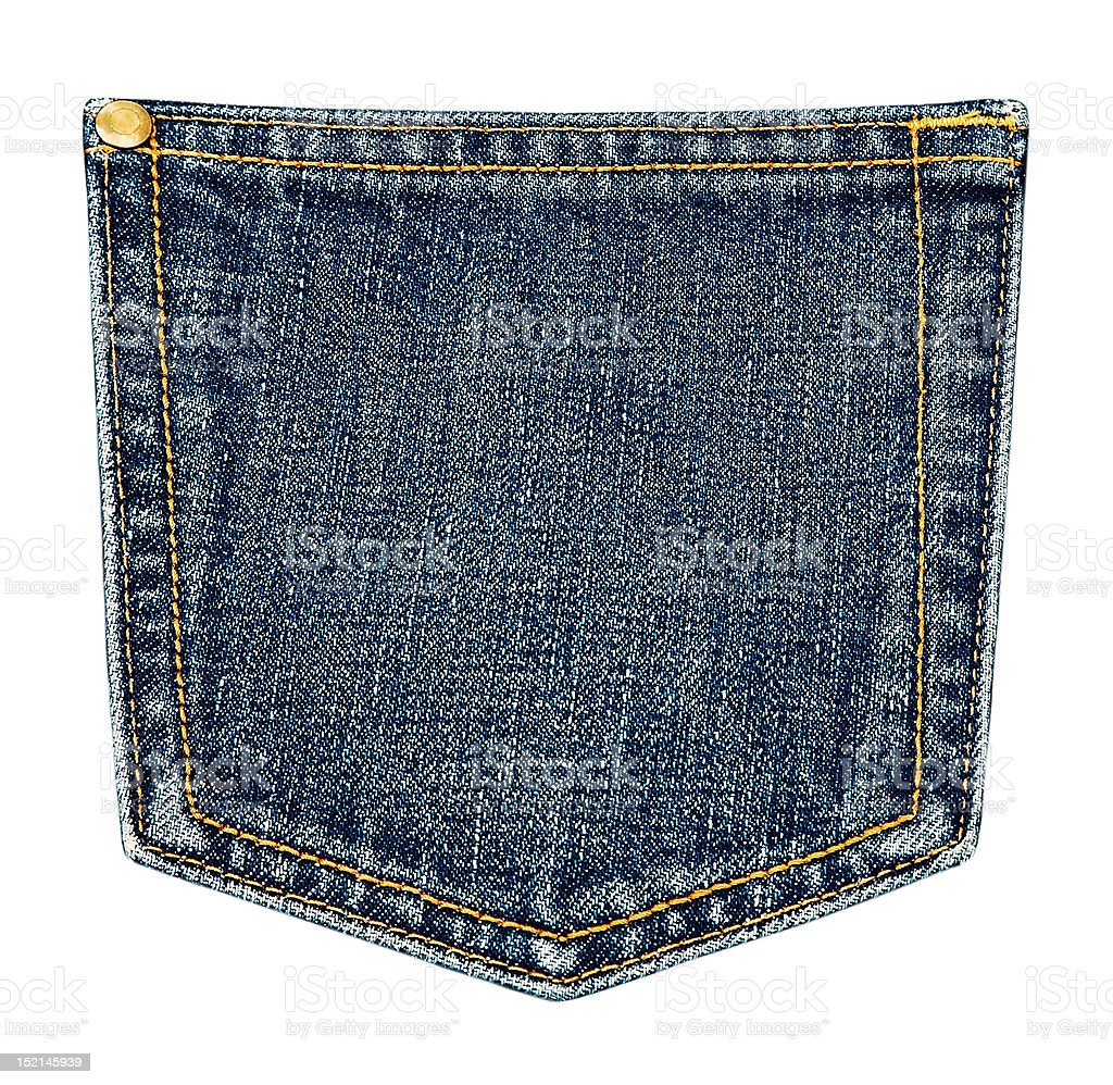 pocket. stock photo