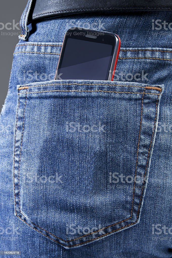 Pocket stock photo