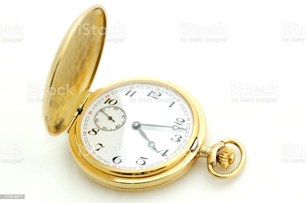 Pocket Watch 02 royalty-free stock photo