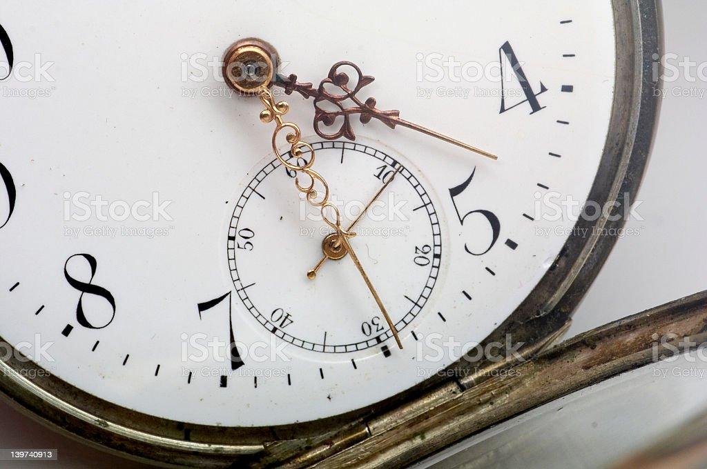 Pocket watch - 2 royalty-free stock photo