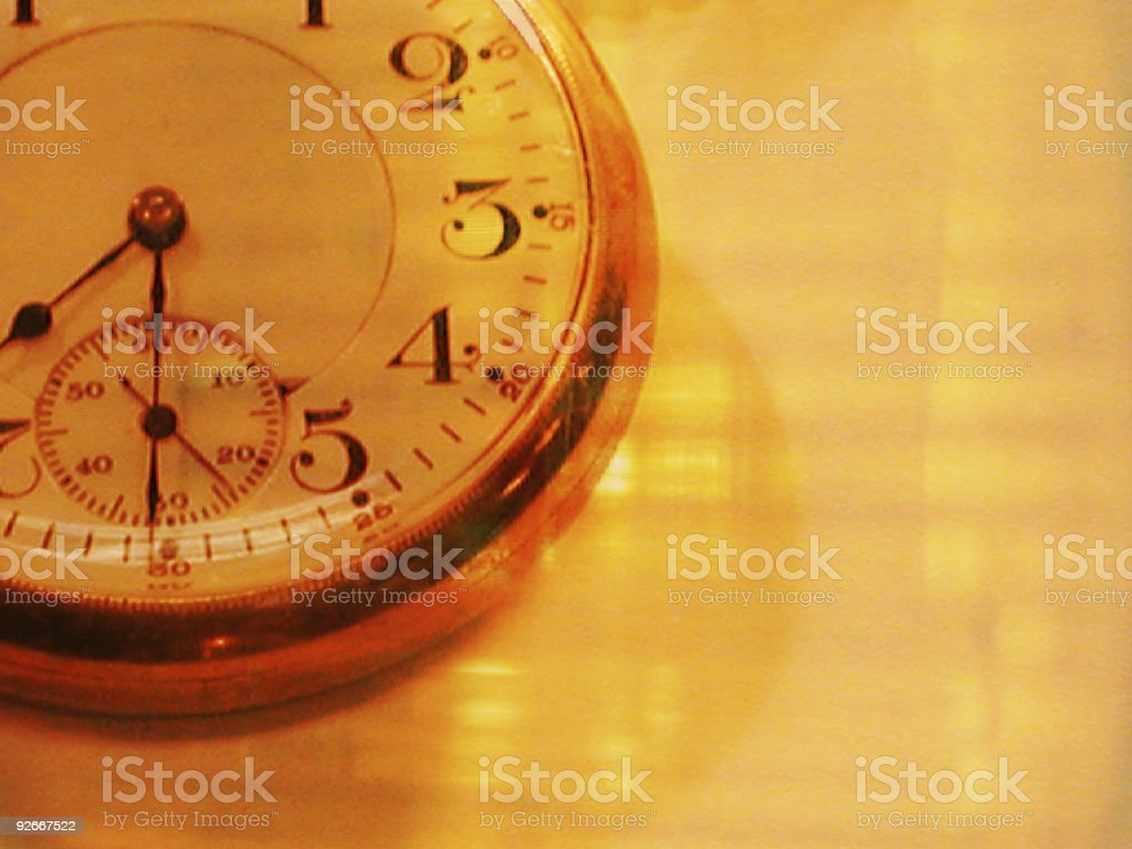Pocket Watch close up royalty-free stock photo
