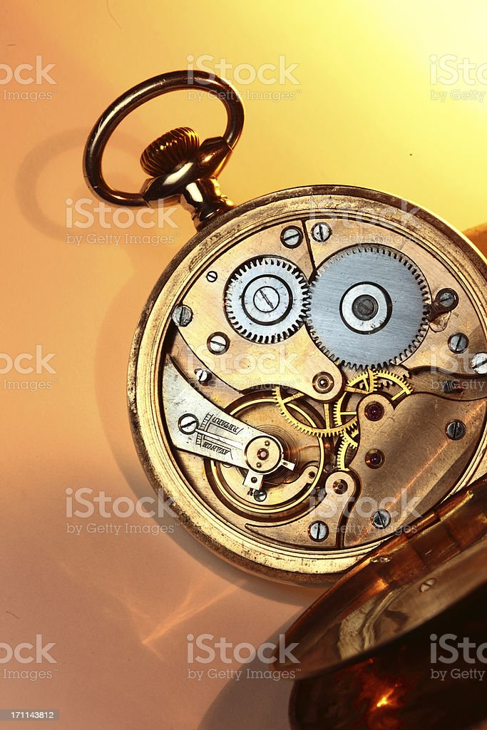 Pocket watch royalty-free stock photo