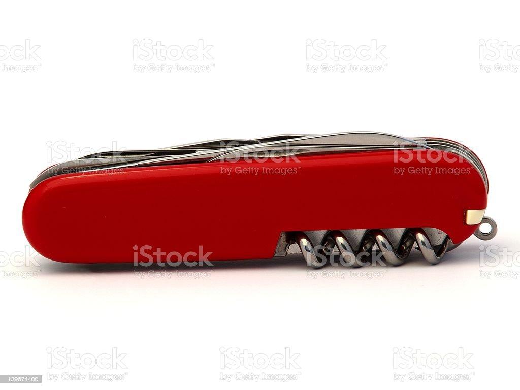Pocketknife stock photo