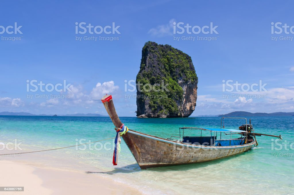 Poda andaman Island stock photo
