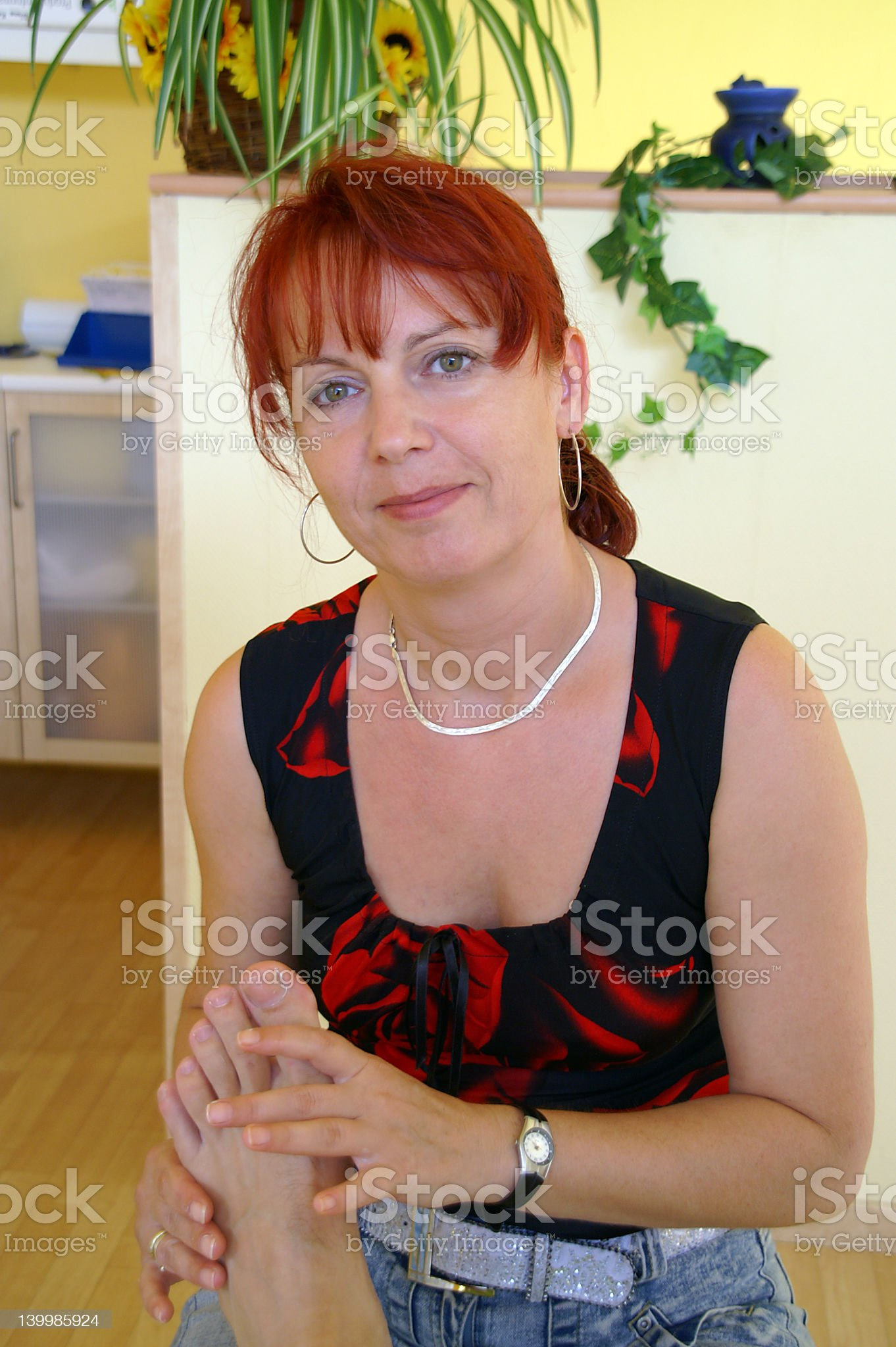 podiatrist royalty-free stock photo