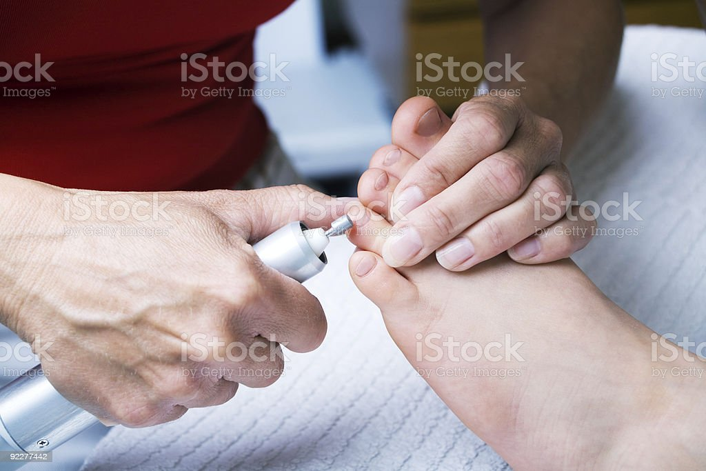 podiatry session 3 royalty-free stock photo