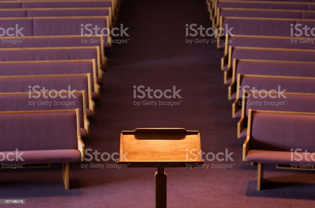 podium stock photo