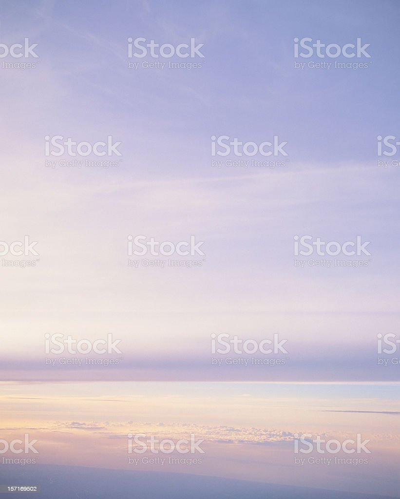 Poetic Skyscape royalty-free stock photo