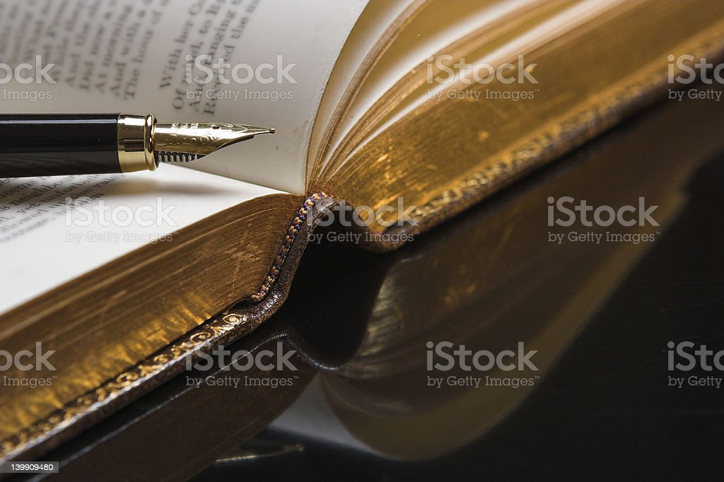 Poetry royalty-free stock photo