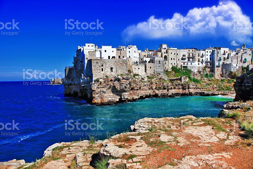 Poglianano al mare, Puglia stock photo