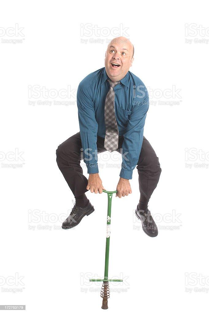 Pogo Man stock photo