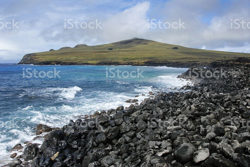 Poike peninsula royalty-free stock photo