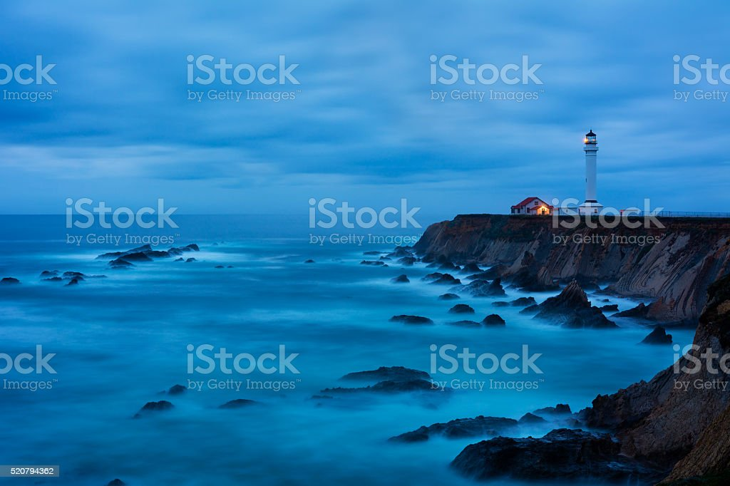 Point Arena Lighthouse stock photo