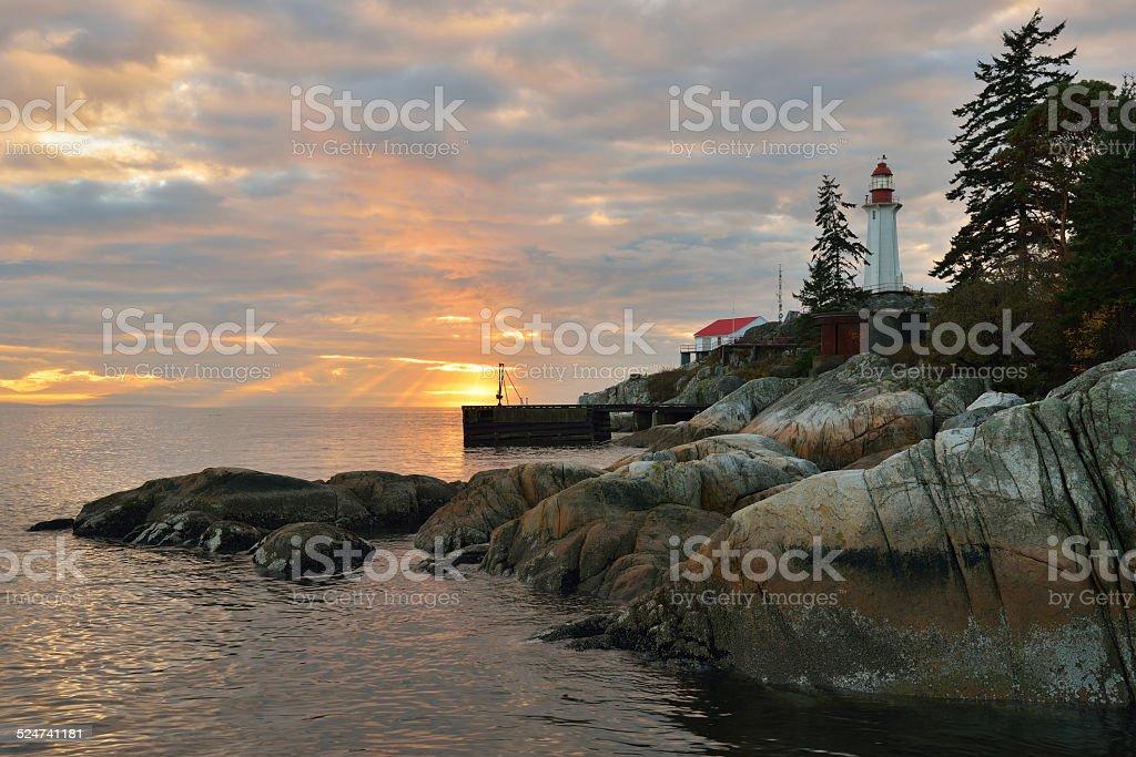 Point Atkinson Lighthouse stock photo