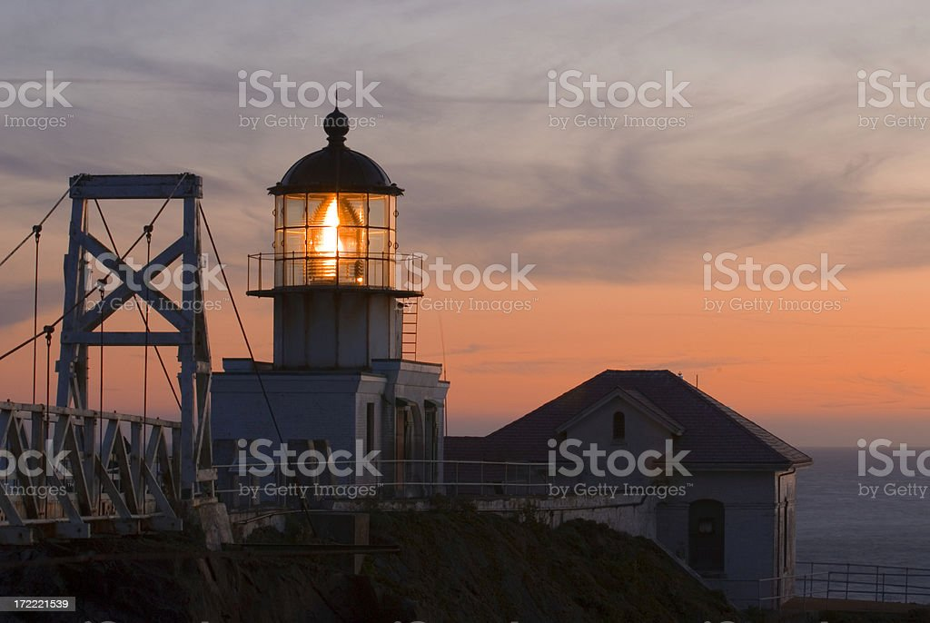 Point Bonita Light House royalty-free stock photo