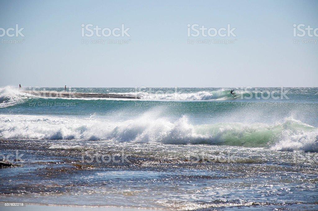 Point Break stock photo