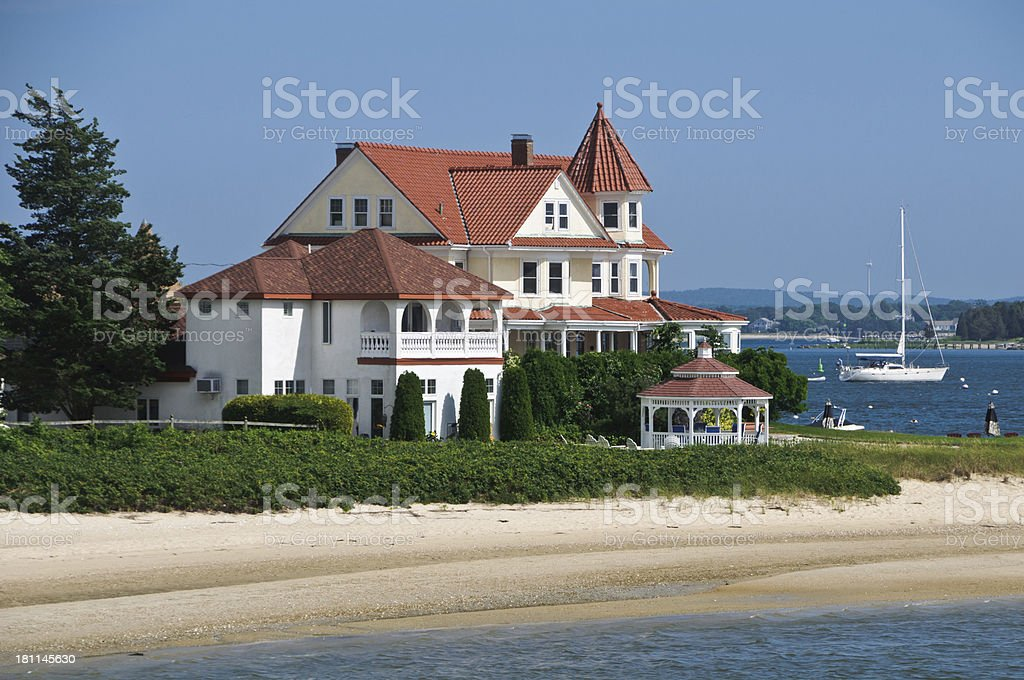 Point Independence Inn royalty-free stock photo