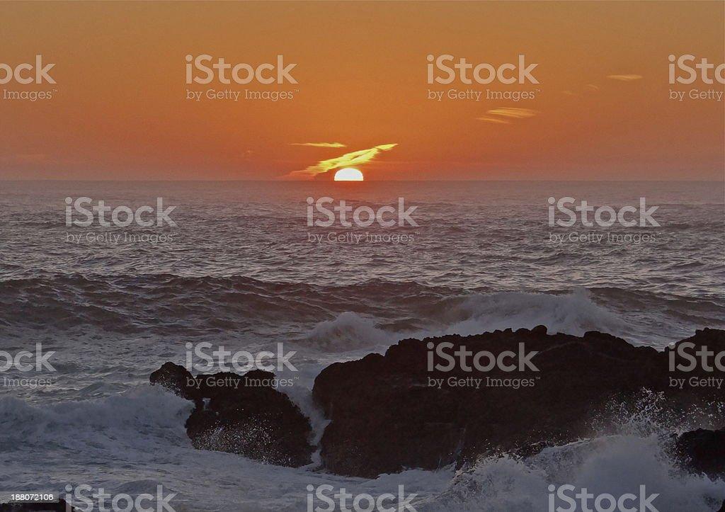 Point Lobos Dagger stock photo
