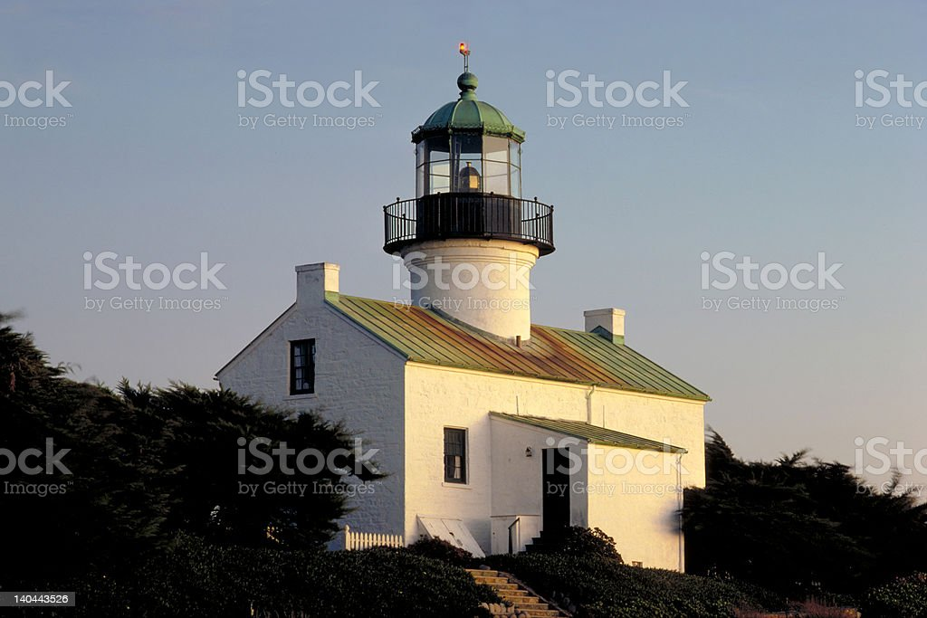 Point Loma Light House stock photo