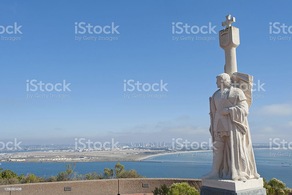 Point Loma panorama stock photo