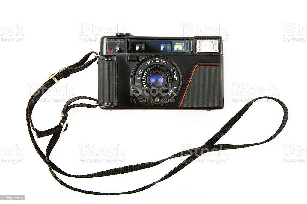 point n shoot  camera 80x stock photo
