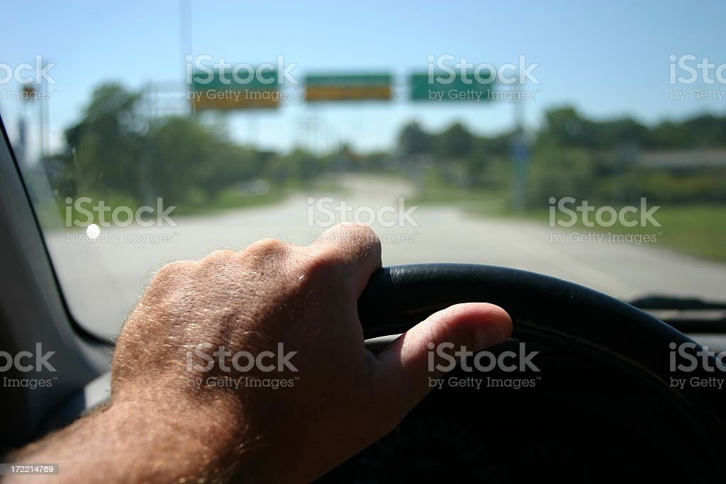 point of view,  driving stock photo