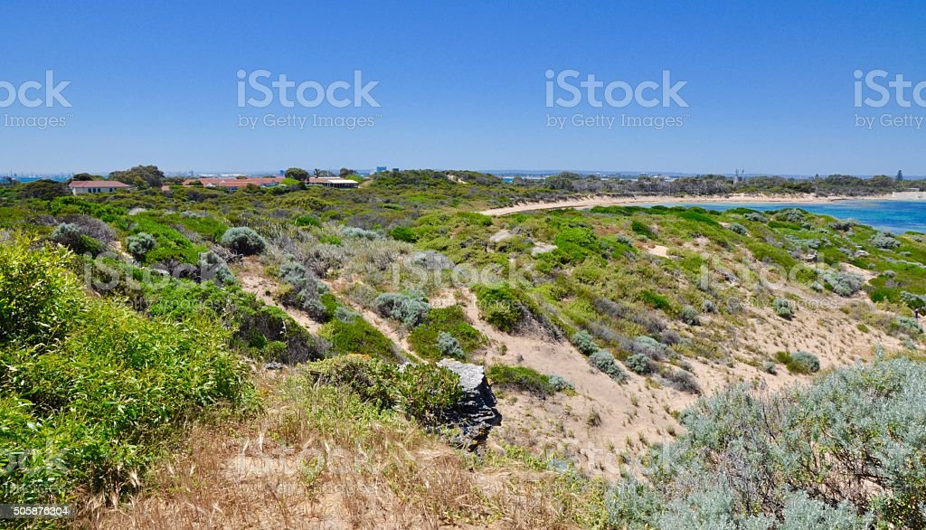 Point Peron: Coastal Dunes stock photo