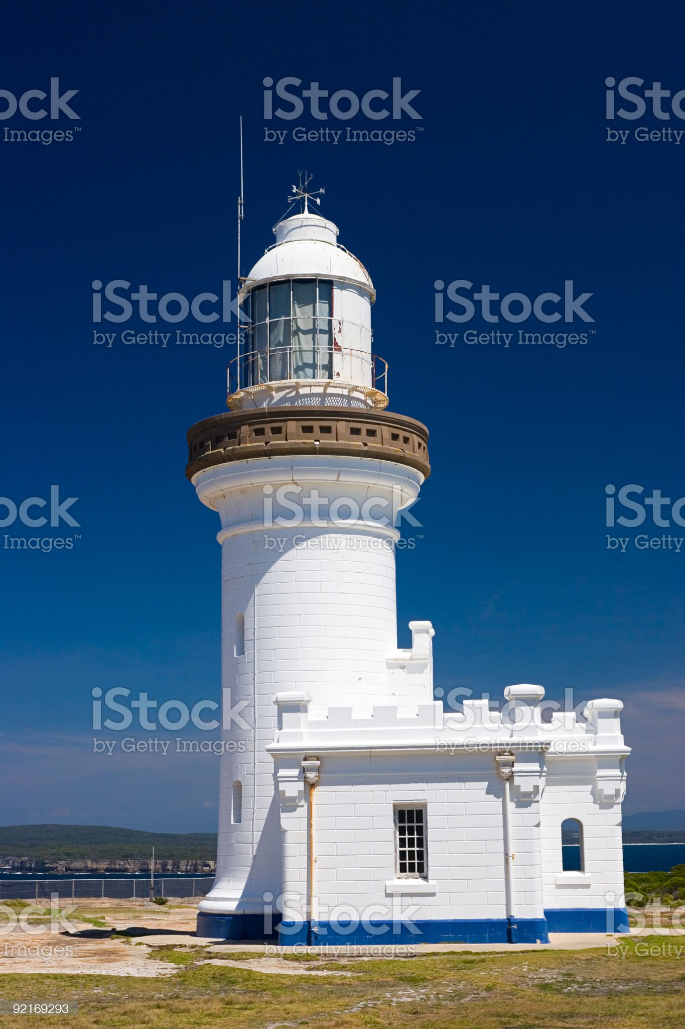Point Perpendicular Lighthouse royalty-free stock photo