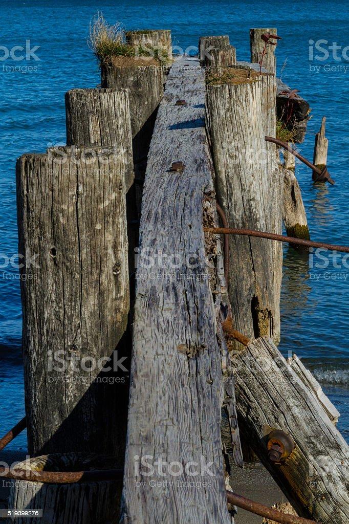 50 Point Pier stock photo