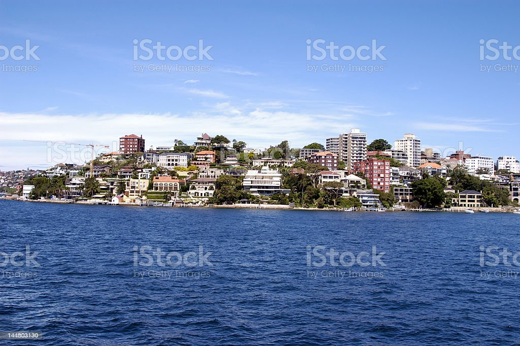 Point Piper, Sydney Harbour royalty-free stock photo