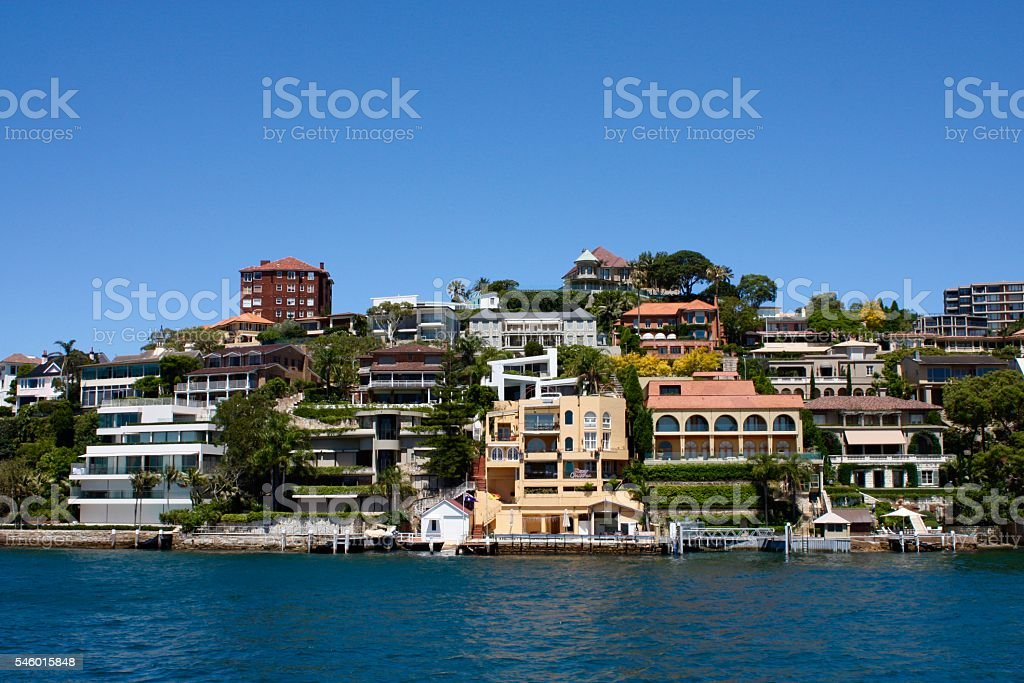 Point Piper Sydney stock photo