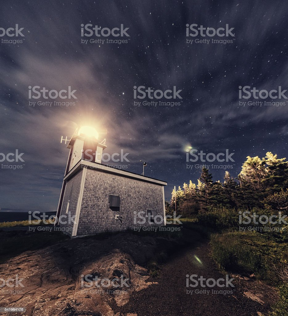 Point Prim Lighthouse stock photo