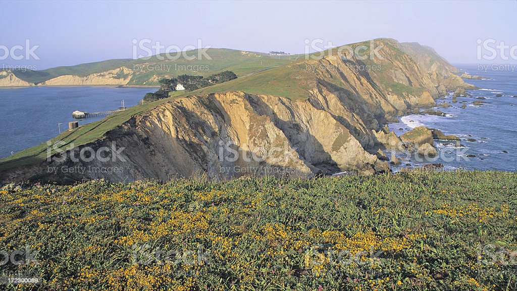 Point Reyes Landscape stock photo
